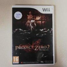 Jeux Vidéo et Consoles: V- PROJECT ZERO 2N - WII CON MANUAL RARE!!. Lote 229684515