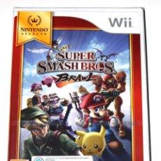 Videojuegos y Consolas: JUEGO WII SUPER SMASH BROS. BRAWL NUEVO PRECINTADO. Lote 229687740
