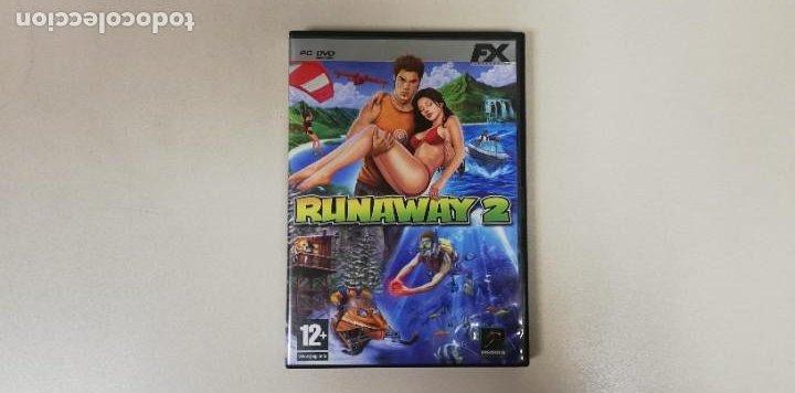 V- RUNAWAY 2 FX - PC CD DVD ROM CON MANUAL (Juguetes - Videojuegos y Consolas - Nintendo - Wii)