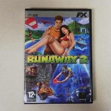 Videojuegos y Consolas: V- RUNAWAY 2 FX - PC CD DVD ROM CON MANUAL. Lote 229688275