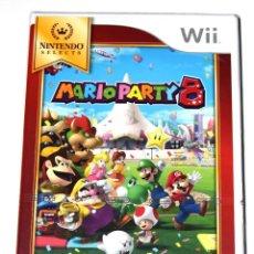 Videojuegos y Consolas: JUEGO WII MARIO PARTY 8 NUEVO PRECINTADO. Lote 229689755