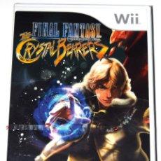 Videojuegos y Consolas: JUEGO WII FINAL FANTASY CRYSTAL CHRONICLES: CRYSTAL BEARERS NUEVO PRECINTADO. Lote 229690260
