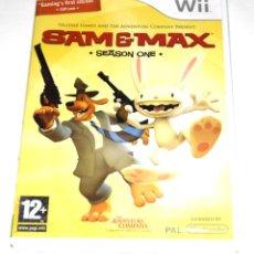 Videojuegos y Consolas: JUEGO WII SAM AND MAX: SEASON 1 NUEVO PRECINTADO. Lote 229690485
