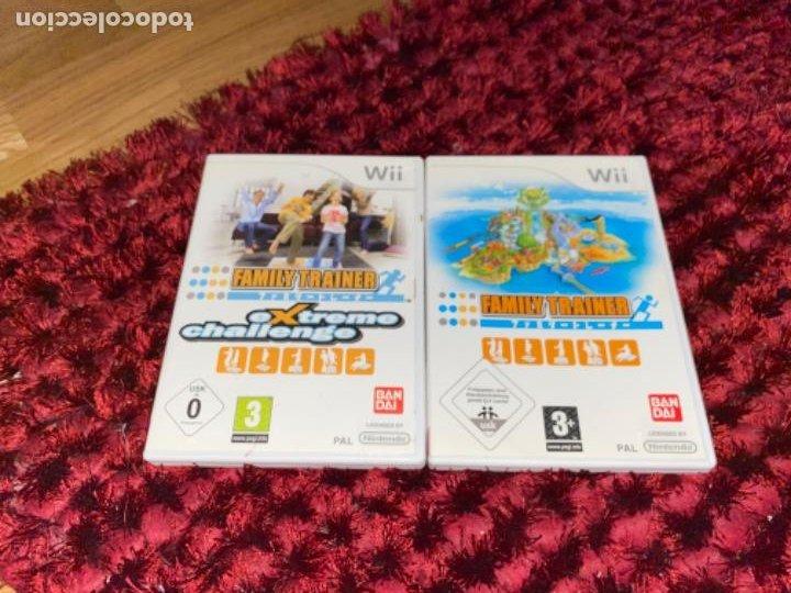 Videojuegos y Consolas: Juegos Consola Wii family trainer - Foto 2 - 230326195