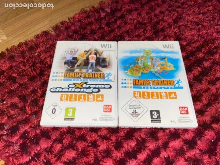 Videojuegos y Consolas: Juegos Consola Wii family trainer - Foto 3 - 230326195