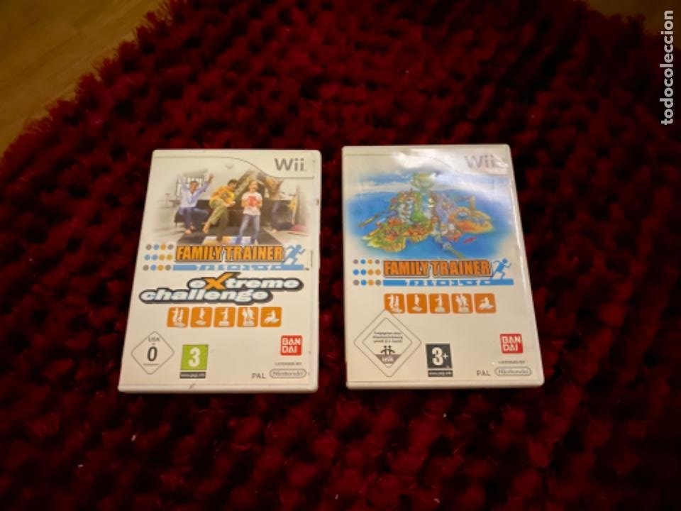 Videojuegos y Consolas: Juegos Consola Wii family trainer - Foto 6 - 230326195