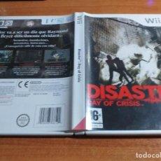 Videojuegos y Consolas: DISASTER DAY OF CRISIS NINTENDO WII PAL ESPAÑA COMPLETO. Lote 230466670