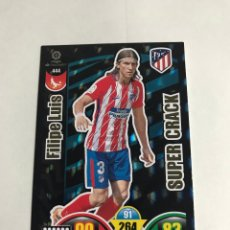 Videojuegos y Consolas: 20.CROMOS ADRENALYN 2017-2018 17-18 SUPERCRACKS SUPER CRACKS FILIPE LUIS. Lote 230565750