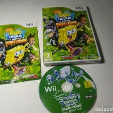 Jeux Vidéo et Consoles: BOB ESPONJA Y AMIGOS : GLOBS OF DOOM ( NINTENDO WII - WII U - PAL - ESP). Lote 230679920