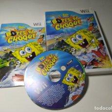 Jeux Vidéo et Consoles: BOB ESPONJA - BOTES DE CHOQUE ( NINTENDO WII - WII U - PAL - ESP). Lote 230691805
