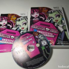 Videojuegos y Consolas: MONSTER HIGH - INSTITUTO MONSTRUOSO ( NINTENDO WII - WII U - PAL - ESP). Lote 230692325
