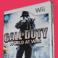 Videojuegos y Consolas: CALL OF DUTY. WORLD AT WAR. WII. Lote 230916450