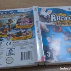 Videojuegos y Consolas: RAYMAN RAVING RABBIDS WII PAL ESP. Lote 231240165