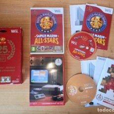Videojuegos y Consolas: JUEGO WII SUPER MARIO ALL-STARS 25TH ANNIVERSARY EDITION 25 ANIVERSARIO - COMPLETO - PAL ESPAÑA. Lote 232828865