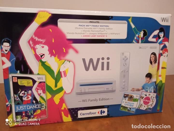 CONSOLA WII FAMILILY EDITION (VARIOS JUEGOS INC) (Juguetes - Videojuegos y Consolas - Nintendo - Wii)