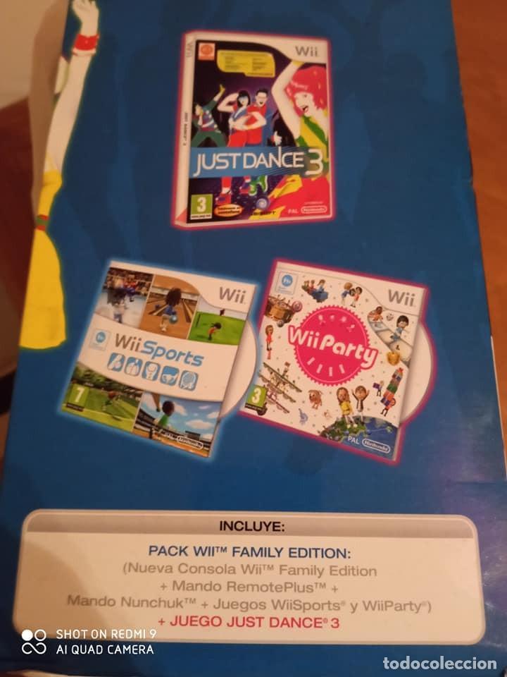 Videojuegos y Consolas: Consola Wii Familily Edition (Varios Juegos Inc) - Foto 2 - 233806325