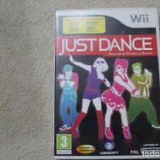 Videojuegos y Consolas: WII JUST DANCE SIENTE EL RITMO Y BAILA. Lote 234059415