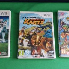 Jeux Vidéo et Consoles: LOTE DE 3 JUEGOS DE NINTENDO WII. Lote 234133140