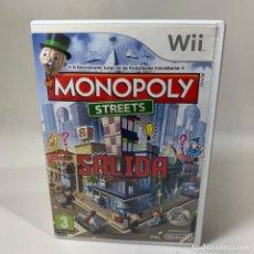 Videojuegos y Consolas: VIDEOJUEGO NINTENDO WII - MONOPLY STREETS + CAJA + INSTRUCCIONES - EUR. Lote 234919945