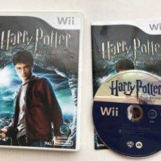 Videojuegos y Consolas: HARRY POTTER HALF BLOOD PRINCE NINTENDO WII. Lote 235178095