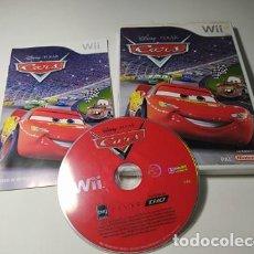 Videojuegos y Consolas: CARS ( DISNEY PIXAR) ( NINTENDO WII - WII U - PAL - ESP). Lote 235273965