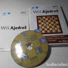 Videojuegos y Consolas: WII AJEDREZ ( NINTENDO WII - WII U - PAL - ESP). Lote 235274385