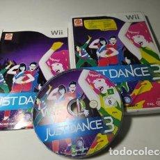 Videojuegos y Consolas: JUST DANCE 3 ( NINTENDO WII - WII U - PAL - ESP). Lote 235274455