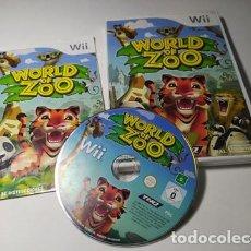 Videojuegos y Consolas: WORLD OF ZOO ( NINTENDO WII - WII U - PAL - ESP). Lote 235274515