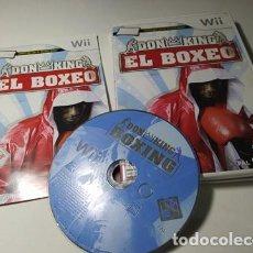 Videojuegos y Consolas: DON KING - EL BOXEO ( NINTENDO WII - WII U - PAL - ESP). Lote 235274555