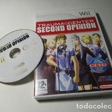 Videojuegos y Consolas: TRAUMA CENTER : SECOND OPINION ( NINTENDO WII - WII U - PAL - ESP). Lote 235274605