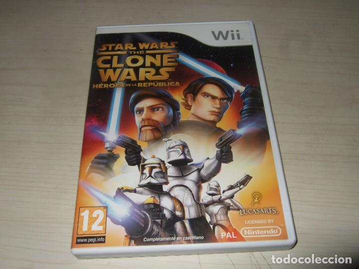 JUEGO NINTENDO WII STAR WARS THE CLONE WARS (Juguetes - Videojuegos y Consolas - Nintendo - Wii)