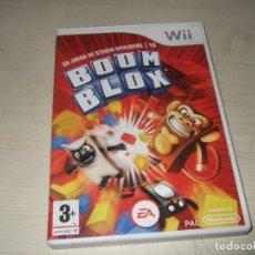 Videojuegos y Consolas: JUEGO NINTENDO WII BOOM BLOX. Lote 235606615