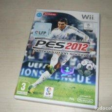 Videojuegos y Consolas: JUEGO NINTENDO WII PES 2012. Lote 235606685