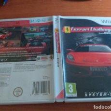 Videojuegos y Consolas: FERRARI CHALLENGE TRFEO FIRELLI PAL ESP WII. Lote 236066300