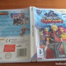 Videojuegos y Consolas: SKATE CITY HEROES NINTENDO WII PAL ESP. Lote 236066370