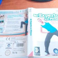Videojuegos y Consolas: MI EXPERTO EN FITNESS MANTENTE EN FORMA WII PAL ESP. Lote 236066395