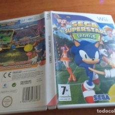 Videojuegos y Consolas: SEGA SUPERTARS TENNIS PAL ESP WII. Lote 236066445