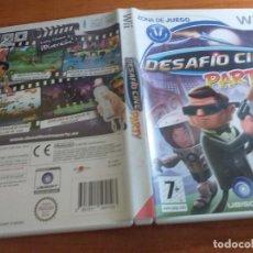 Videojuegos y Consolas: DESAFIO CINE PARTY WII PAL ESP. Lote 236066545