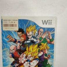 Jeux Vidéo et Consoles: WIIREF.32 DRAGÓN BALL BUDOKAI TENKAICHI 2 JUEGO NINTENDO WII SEGUNDAMANO. Lote 236150150