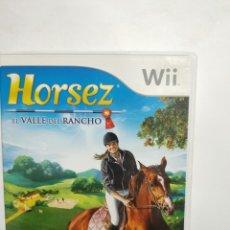 Videojuegos y Consolas: WIIREF.33 HORSEZ EL VALLE DEL RANCHO JUEGO NINTENDO WII SEGUNDAMANO. Lote 236150335