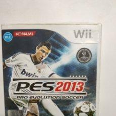 Videojuegos y Consolas: WIIREF.34 PES 2013 JUEGO NINTENDO WII SEGUNDAMANO. Lote 236150485