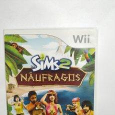 Videojuegos y Consolas: WIIREF.36 SIMS 2 NÁUFRAGOS JUEGO NINTENDO WII SEGUNDAMANO. Lote 236150840