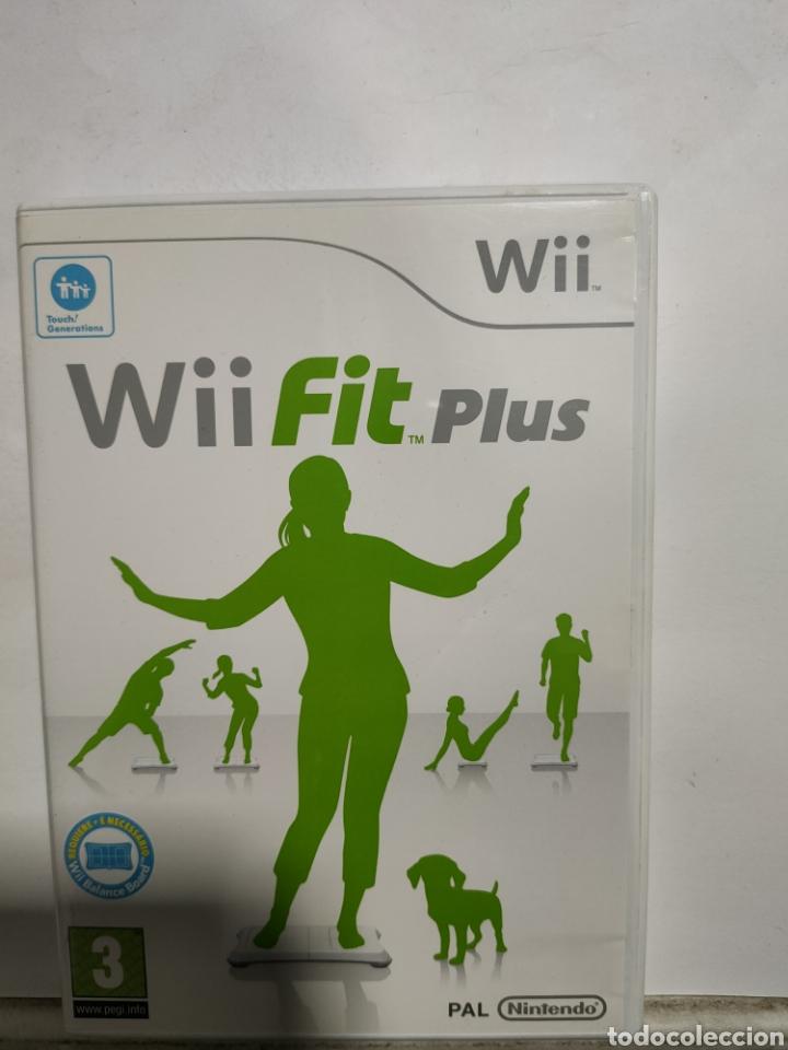WIIREF.37 WII FIT PLUS JUEGO NINTENDO WII SEGUNDAMANO (Juguetes - Videojuegos y Consolas - Nintendo - Wii)