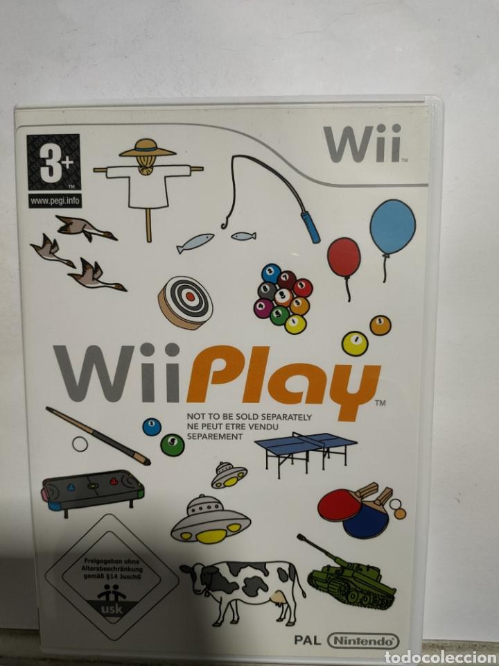 WIIREF.38 WII PLAY JUEGO NINTENDO WII SEGUNDAMANO (Juguetes - Videojuegos y Consolas - Nintendo - Wii)