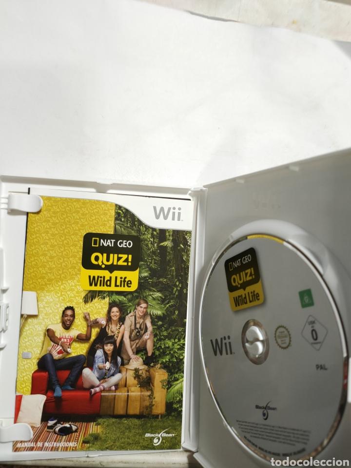 Videojuegos y Consolas: WIIREF.39 nat GEo quiz Wild Life JUEGO NINTENDO WII SEGUNDAMANO - Foto 2 - 236151330