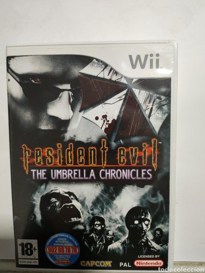 WIIREF.40 RESIDENT EVIL THE UMBRELLA CHRONICLES JUEGO NINTENDO WII SEGUNDAMANO (Juguetes - Videojuegos y Consolas - Nintendo - Wii)