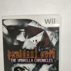 Videojuegos y Consolas: WIIREF.40 RESIDENT EVIL THE UMBRELLA CHRONICLES JUEGO NINTENDO WII SEGUNDAMANO. Lote 236151485