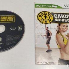 Videojuegos y Consolas: JUEGO CONSOLA NINTENDO WII , GOLDS GYM CARDIO WORKOUT , VERSION USA SIN CAJA. Lote 236368610