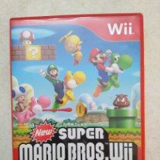 Videojuegos y Consolas: NEW SÚPER MARIO BROS. WII. Lote 236656505
