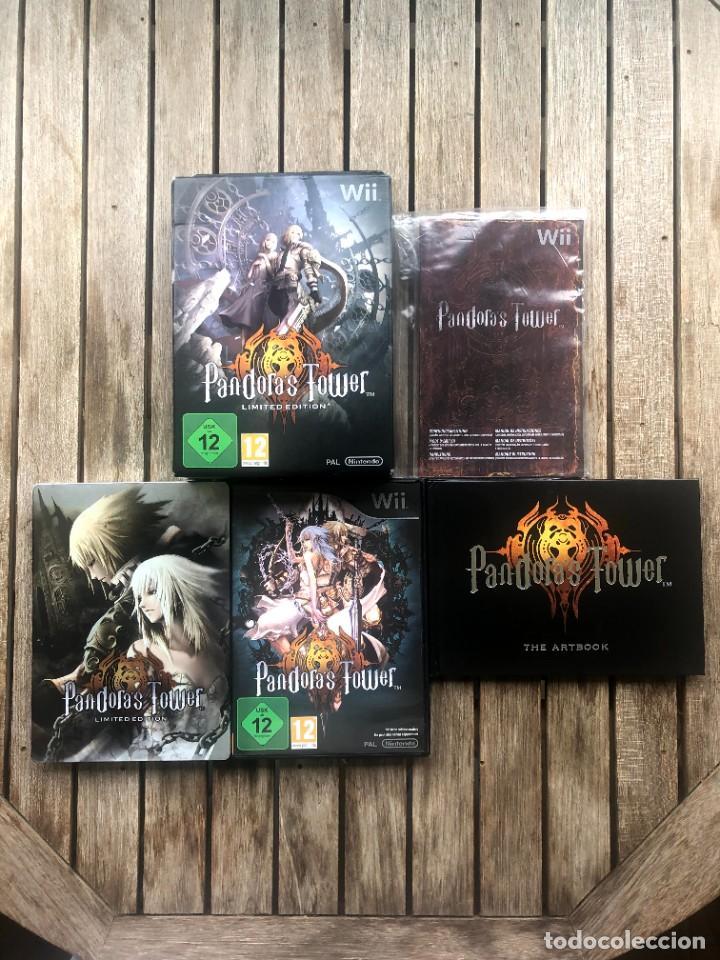 Videojuegos y Consolas: Pandoras Tower Limited Edition - Nintendo Wii - Foto 2 - 236962565